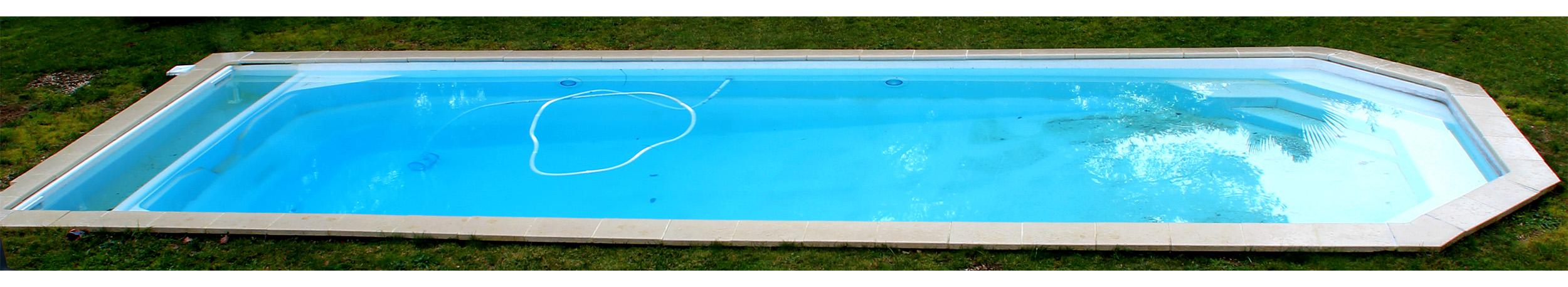 coque piscine 12m